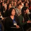 QUINTA-FEIRA, 27 —Centenas de docentes,estudantes,pesquisadores, profissionais de áreas ligadas à Educação acompanham o ciclo de palestrasda 17ª edição do Congresso de Educação da LBV.