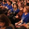 QUINTA-FEIRA, 27 — Educadores vindos de todo o Brasil e também do exterior acompanham o primeiro dia de palestras do evento.