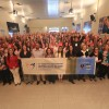 QUAINTA-FEIRA, 27 — Congressistas e palestrantes no primeiro dia de palestras do evento