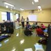 """A oficina """"A razão das emoções matemáticas"""" foi conduzida pelas oficineiras Elaine Moura da Silva e Silvia Garcia Moscoso, que mostraram aos participantes — de uma forma lúdica — que as emoções podem contribuir com o aprendizado da disciplina Matemática em sala de aula. #EducaçãoLBV"""