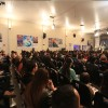 SEXTA-FEIRA, 28 —Público acompanha, com bastante entusiasmo, as palestras do último dia do evento.