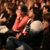 SEXTA-FEIRA, 28 —Público acompanha, com atenção, as palestras dosegundo dia do 17° Congresso Internacional de Educação da LBV.