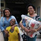 Florianópolis, SC —Natal é época de união e solidariedade! A campanha de Natal da LBV leva às famílias a Solidariedade e a certeza de ceia farta com as cestas de alimentos.
