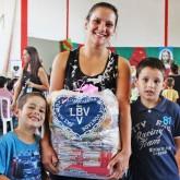 São José, SC — Natal é época de união e solidariedade! A campanha de Natal da LBV leva às famílias a Solidariedade e a certeza de ceia farta com as cestas de alimentos.
