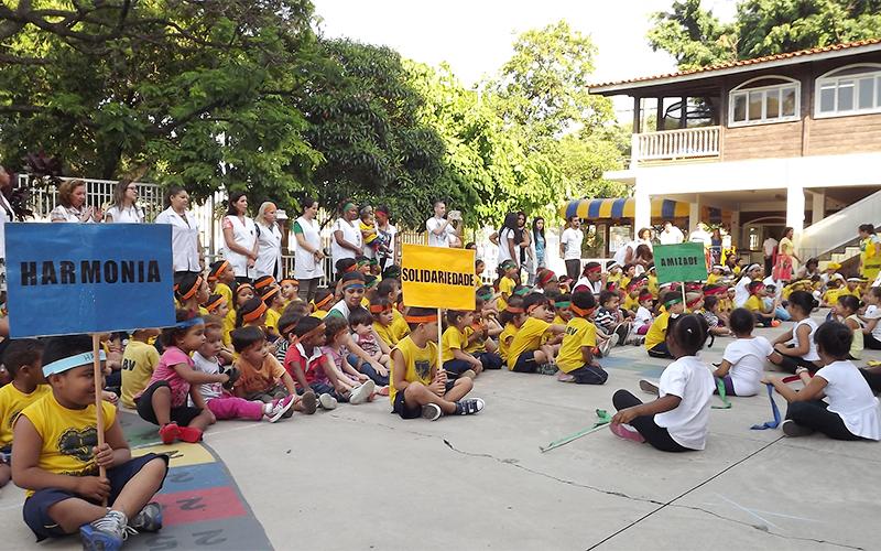 Fabuloso Supercreche Jesus inicia Jogos Olímpicos da Educação Infantil  TR92