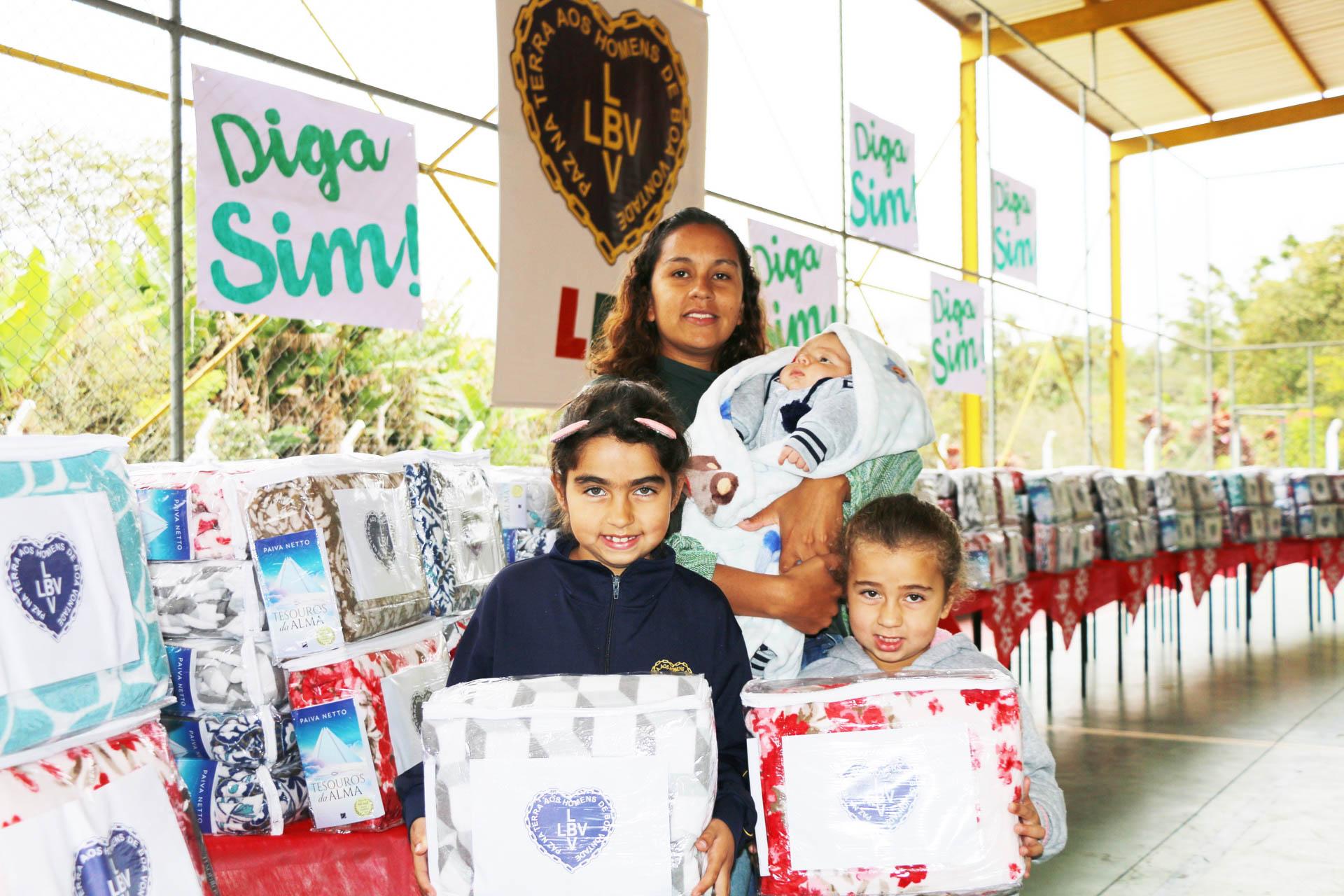 Mogi das Cruzes, SP— Visando garantir que as famílias possam se proteger do frio, a Campanha