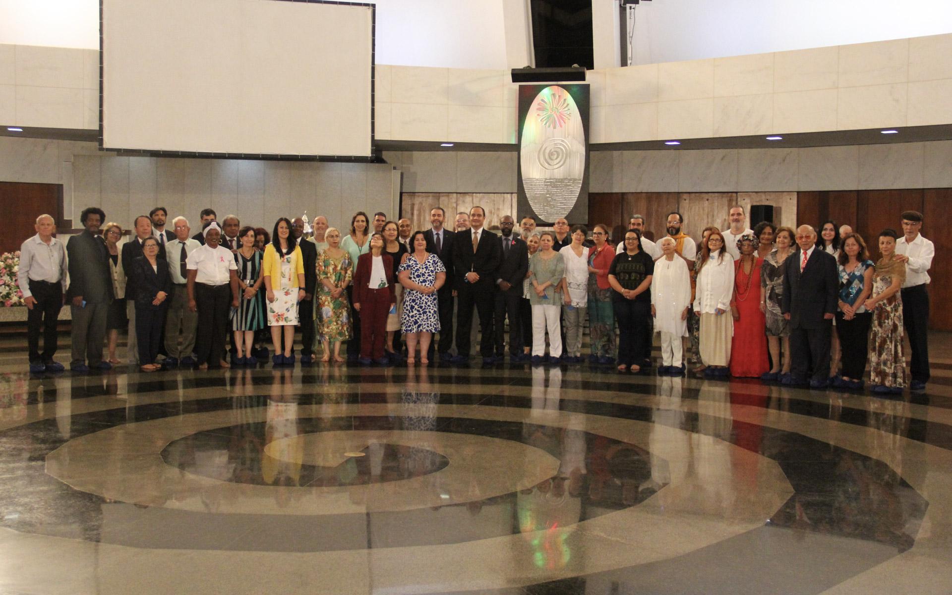 Brasília, DF —Ato Ecumênico reúne autoridades, lideranças religiosas, representantes de diversas áreas do saber humano e de organizações da sociedade civil.