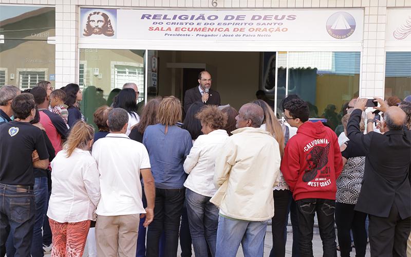 São Pedro da Aldeia, região dos lagos do Rio de Janeiro,RJ— A nova Sala Ecumênica de Oração é inaugurada com o apoio da comunidade local.