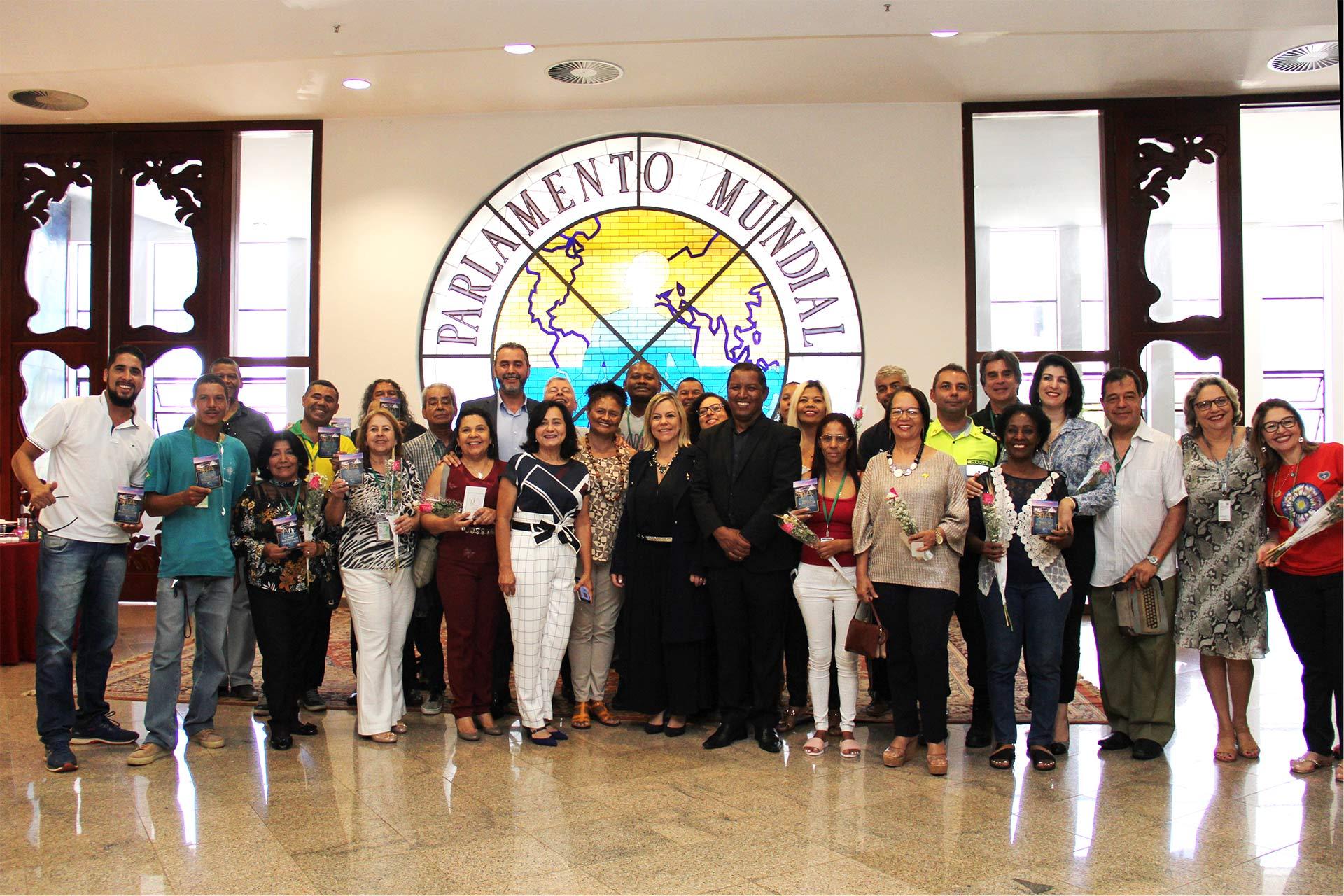 Brasília, DF - Dia do Guia de Turismo ganha destaque em homenagem no ParlaMundi, da LBV.