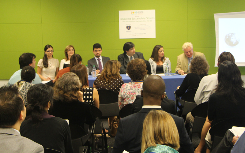 "NEW YORK, USA – On Friday, August 29, the Legion of Good Will coordinated a discussion panel under the theme ""Educating Sustainable Citizens — Best Practices of Brazil from the Rio+20"", which called the attention of professionals from the field of education from several countries."