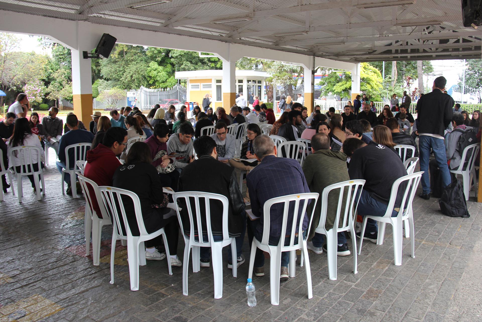 São Paulo, SP — Após a abertura do evento, a Juventude Legionária participou do Momento