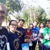 Ciudad del Este/Paraguai —Com a revista JESUS ESTÁ CHEGANDO! em mãos, jovens da Boa Vontade multiplicaram a mensagem fraterna e ecumênica da Religião do Terceiro Milênio.
