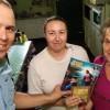 GAROPABA, SC —As senhorasEdilene de Souza e a Maria Bernadina de Souza, recebem a mensagem ecumênica da Religião de Deus, do Cristo e do Espírito Santo.