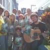 FLORIANÓPOLIS, SC — Jovens Militantes da Boa Vontade de Deusrealizam visita ao lar de vovôs e vovós!