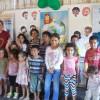 Assunção, Paraguai — As crianças são as protagonistas dessegrande evento solidário e expressam toda a sua alegria em participar de mais uma edição do Fórum Internacional dos Soldadinhos de Deus, da LBV.