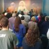 SANTO ANDRÉ, SP — Vistaparcial dos Cristãos do Novo Mandamento de Jesus que marcaram presença no Encontro Ecumênico Família — Um Presente de Deus.