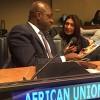 Nova York, EUA — EmbaixadorTéte António, observador permanente da Missão daUnião Africana nas Nações Unidas.