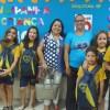 Araçatuba, SP — Quem prestigiou a entrega dos kits pedagógicos da LBV foia professora e coordenadora escolar Rita de Cássia S. Macedo (ao centro), representando a Secretaria Municipal de Educação.