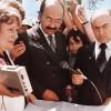 1984: O dirigenteda LBV analisaa planta do TBV,tendo ao lado osaudoso legionárioWaldir GomesTristão, entãoresponsável pelaSucursal da LBVem Brasília/DF.