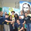Belo Horizonte, MG - Em 1° lugar no Festival Internacional de Música, da LBV, ficou a banda Militantes da Paz, de Uberlândia.