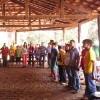 GOIÂNIA, GO — Jovens Militantes do Bemse reuniram na fazenda Serra da Jibóia para a realização do Encontro Jovem de Boa Vontade, cujo o tema estudado foiOs jovens e a construção da Paz.