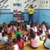 Mesquita/RJ:Com a Campanha Criança Nota 10!, a LBV oferece o apoio necessário para que crianças atendidas pororganizações parceiras também tenham um material de qualidade para mais um ano letivo.