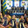 Maricá, RJ: As crianças e adolescentes atendidos pela LBV receberam os kits de materiais pedagógicos e escolares arrecadados por meio da campanha Criança Nota 10 - Proteger a infância é acreditar no futuro!