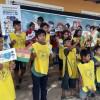 SANTA CRUZ DE LA SIERRA, BOLIVIA — As crianças participam das atividades do 16º Fórum Internacional dos Soldadinhos de Deus, da LBV.