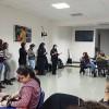 """Porto, Portugal — As professoras Andressa Santos e Karen Reis Ribeiro ministraram a oficina """"Brincadeiras infantis para reforçar os vínculos afetivos na família""""."""