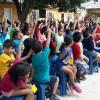 Santa Cruz, Bolívia — As crianças são as protagonistas dessegrande evento e expressam toda a alegria e animação em participar de mais uma edição do Fórum Internacional dos Soldadinhos de Deus, da LBV.