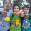 Santa Cruz, Bolívia — Os sorrisos contagiantes marcaram as atividades que os Soldadinhos de Deus, da LBV, participaram na abertura da nova edição do Fórum.