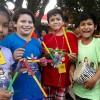 Santa Cruz, Bolívia — As crianças ficaram muito felizes em participar do 17º Fórum Internacional dos Soldadinhos de Deus, da LBV. =D