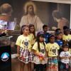Niterói, RJ — As crianças fizeram apresentações e abrilhantaram ainda mais o evento. ♥
