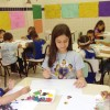 Porto Alegre, RS — Na capital gaúcha, as crianças participaram da oficina de pintura dentro das atividades do 17º Fórum Internacional dos Soldadinhos de Deus, da LBV.