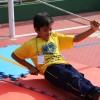 """São Paulo, SP — As crianças se divertiram muito na oficina """"Dia de aventura"""". Na oportunidade, elas aprenderam sobre os esportes radicais."""