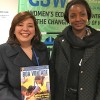 Nova York, EUA — Virginie Mbaikoua (D), ministra dos Assuntos Sociais e Reintegração da República da África Central.