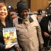 Nova York, EUA — Delegação do Mali representada pela sra.Haidara Aissatoun Sango (ao centro) e Teddé Sambará (D), do Ministério da Juventude e da Promoção da Mulher, da Criança e da Família.