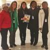 Nova York, EUA — Na foto, da esquerda à direita:Jane Khonizasim, diretora para os Assuntos de Gênero, Sâmara Caruso e Eliana Gonçalves, da LBV, Khanqeziwe Khange, primeira secretária para os Assuntos de Gênero,do Departamento do Primeiro Ministro para os Assuntos de Gênero da Suazilândia, e Chazile Dlamini, da Organização Swaziland Action Group.