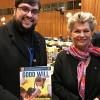 New York, EUA — Embaixadora Katalin Bogyay, representante permanente da Hungria na ONU, com Danilo Parmegiani, representante da LBV nas Nações Unidas.