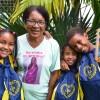 Belo Horizonte, MG - A dona Marta, avó da Maraíza, Ingrid Rakelly e do Lucas Bruno,ficousuper feliz e tranquila por ter o amparo da LBV ao cuidar dos netos. Maraíza, de 9 anos, destacou: