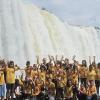 FOZ DO IGUAÇU, BRASIL - El tema de la sostenibilidad es tratado de forma especial en las unidades educativas de la LBV. Desde temprano el niño aprende la importancia de preservar la Naturaleza, la vida y la relación de equilibrio con el Medio Ambiente, mediante acciones y proyectos educativos.