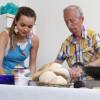 Sessão prática de conservação e utilização do pão na LBV