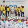 Braga, Portugal —Voluntários presentes no Natal Permanente da LBV, na cidade de Braga.