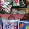 Santo André, SP—As Mulheres Legionáriaspodem desenvolver seus talentos artísticos e criar muitos belíssimos artesanatos como estes.