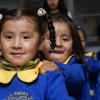 LA PAZ, BOLIVIA - LBV — Niño: ¡El Futuro en el Presente!: Participan en el programa niñas y niños de 6 a 12 años de edad, que concurren a los Centros Comunitarios de Asistencia Social en contraturno al horario escolar. La iniciativa contribuye al protagonismo infantil, por considerar la historia de vida y las singularidades de los niños, por medio de actividades que despiertan capacidades y habilidades, promueven la vivencia de valores e integran a la familia.