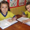 """ASUNCIÓN, PARAGUAY - Las escuelas de la LBV tienen el compromiso de educar con Espiritualidad Ecuménica, formando """"Cerebro y Corazón"""", en la definición del director presidente de la Institución, José de Paiva Netto."""