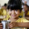TAGUATINGA, BRASIL - El menú, hecho por profesionales especializados, es adecuado para cada grupo de edad, visando el desarrollo pleno de los pequeños. En la LBV, los niños aprenden desde pequeños la importancia de no desperdiciar los alimentos. El tema también es tratado en las salas de actividades en lenguaje lúdico y didáctico.