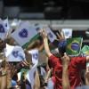 SÁBADO, 8 — São várias as famílias brasileirase do exterior que marcampresença nas festividades do Jubileu de Prata do Templo da Boa Vontade.