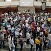 Nave del TBV — Público participa en las conmemoraciones de los 29 años del Templo de la Buena Voluntad, en Brasília, capital de Brasil.