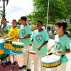 ARACAJU, SE — Para que a música-tema ficasse impecável, os instrumentos de percussão tiveram destaque! =]